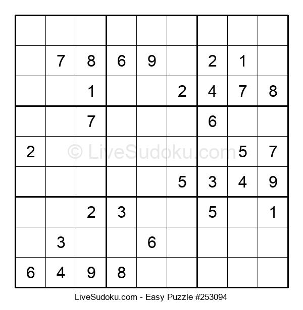 Beginners Puzzle #253094