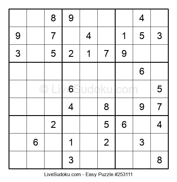 Beginners Puzzle #253111