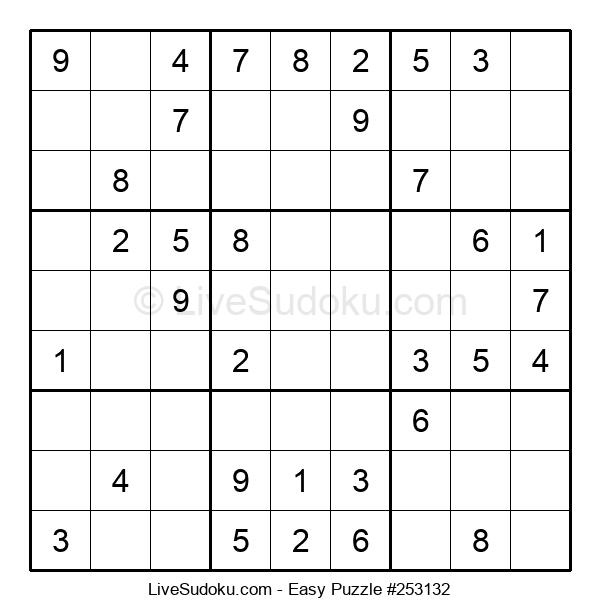 Beginners Puzzle #253132