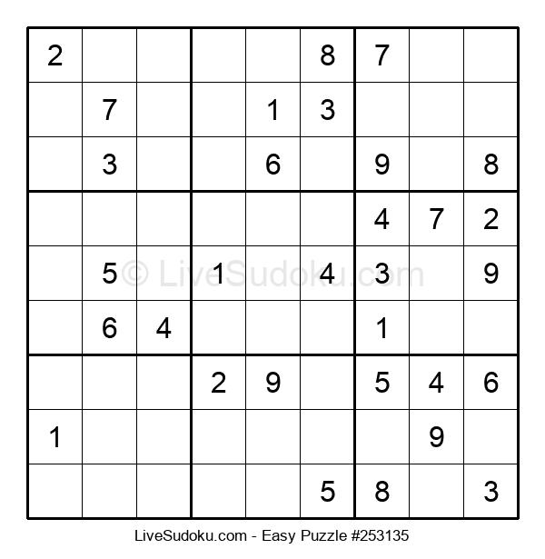 Beginners Puzzle #253135