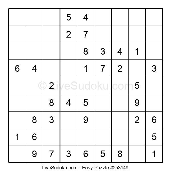 Beginners Puzzle #253149