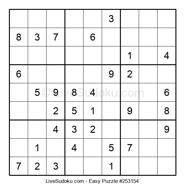 Beginners Puzzle #253154