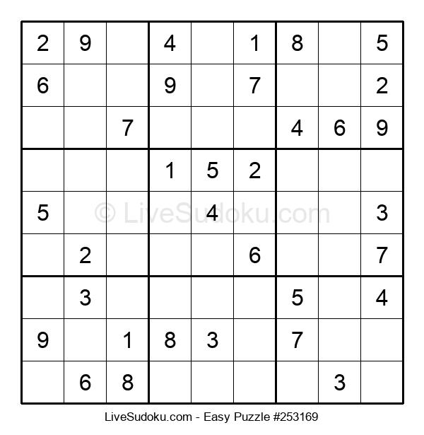 Beginners Puzzle #253169