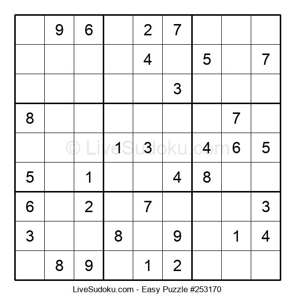Beginners Puzzle #253170
