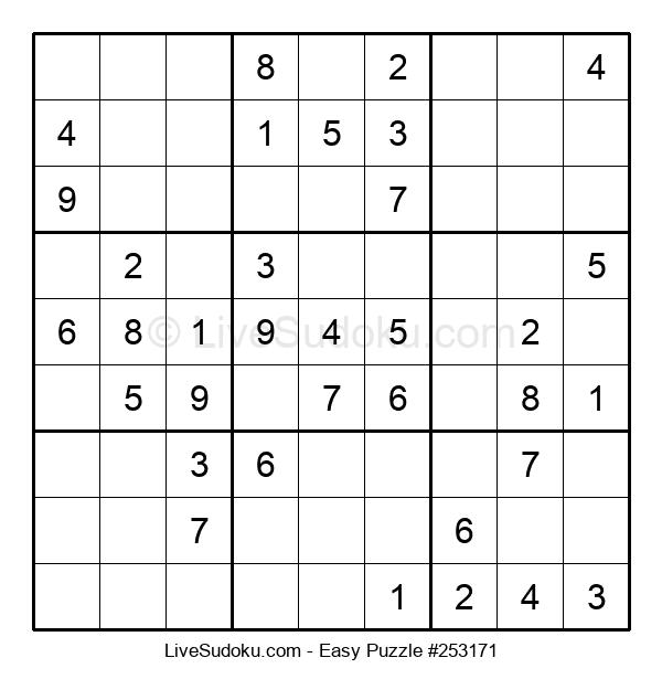 Beginners Puzzle #253171
