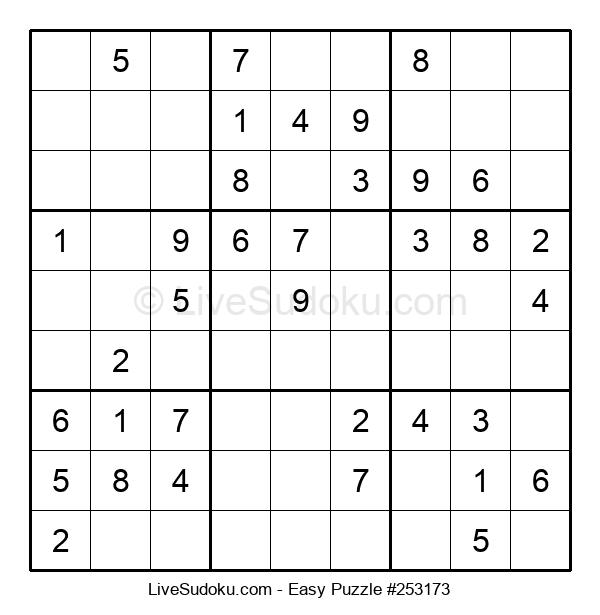 Beginners Puzzle #253173