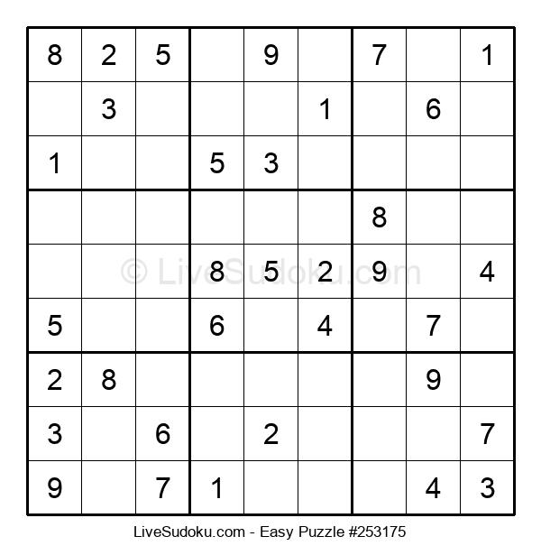 Beginners Puzzle #253175