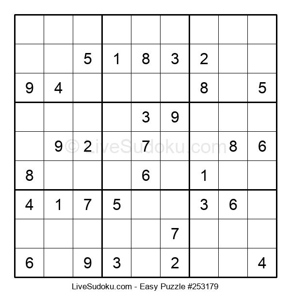 Beginners Puzzle #253179