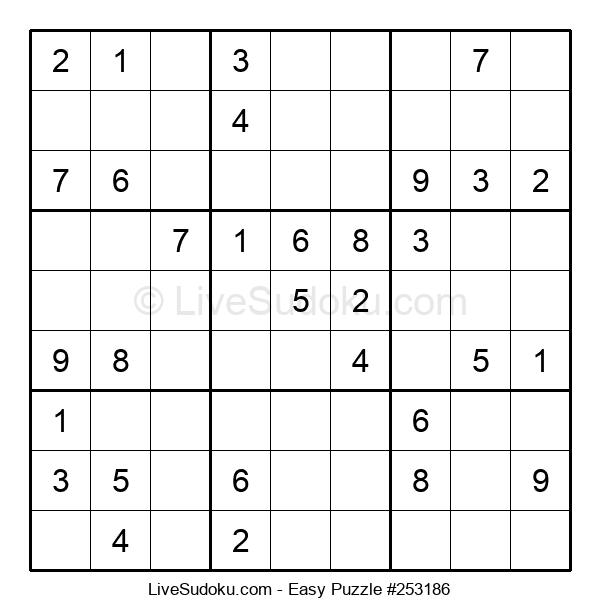 Beginners Puzzle #253186
