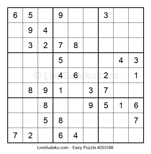 Beginners Puzzle #253188