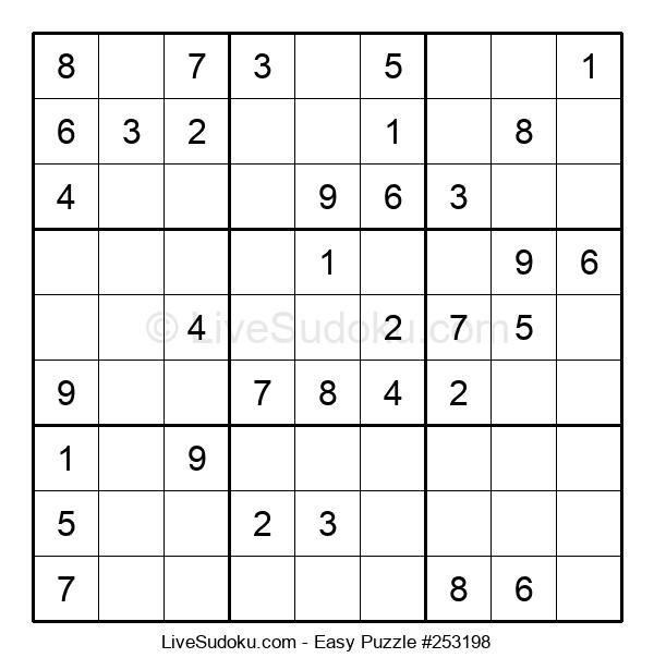 Beginners Puzzle #253198