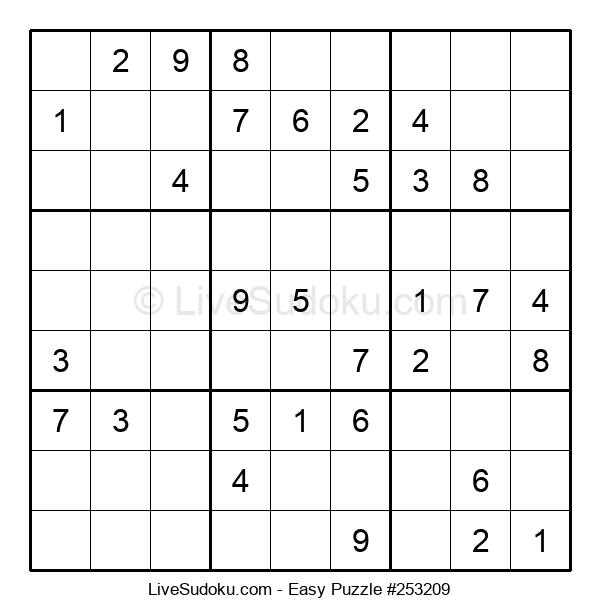Beginners Puzzle #253209