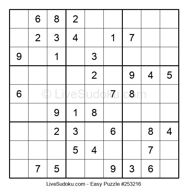 Beginners Puzzle #253216