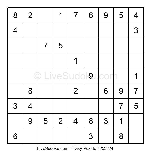 Beginners Puzzle #253224