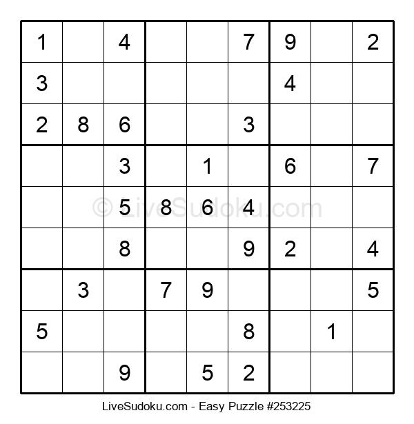 Beginners Puzzle #253225