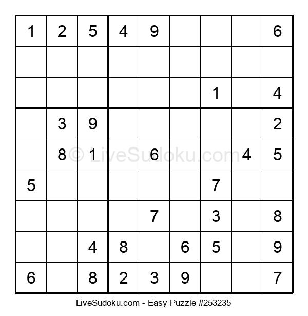 Beginners Puzzle #253235