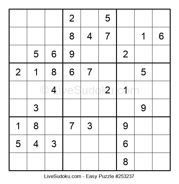 Beginners Puzzle #253237