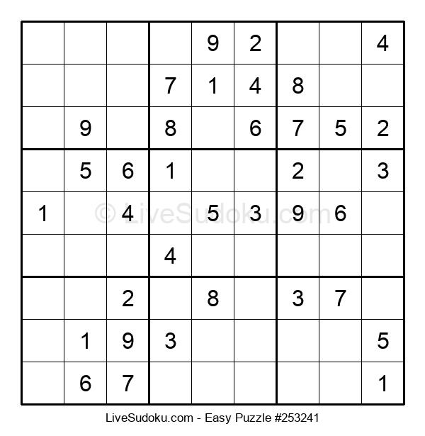 Beginners Puzzle #253241