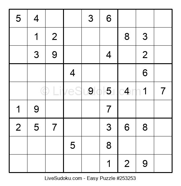 Beginners Puzzle #253253