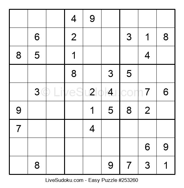 Beginners Puzzle #253260