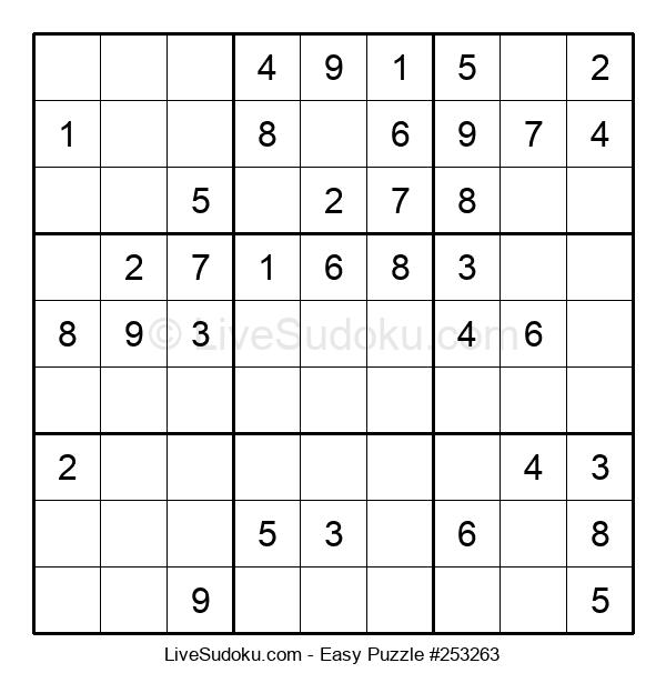 Beginners Puzzle #253263