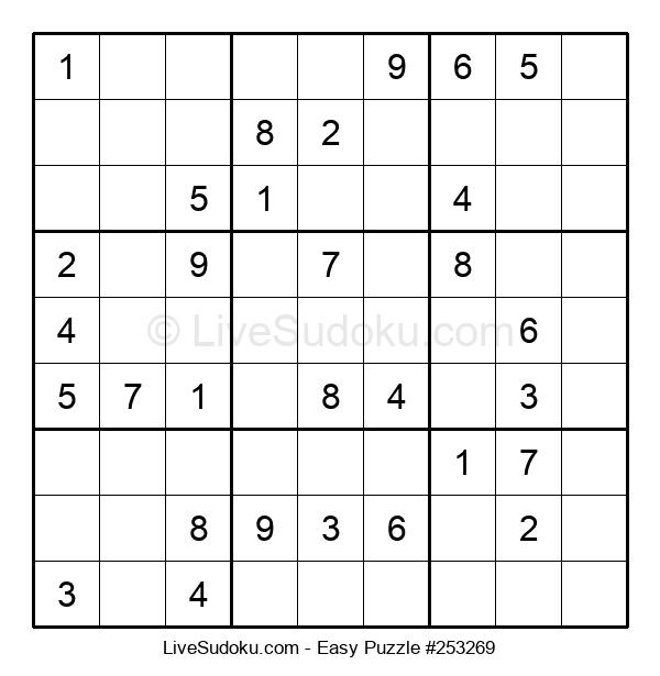 Beginners Puzzle #253269