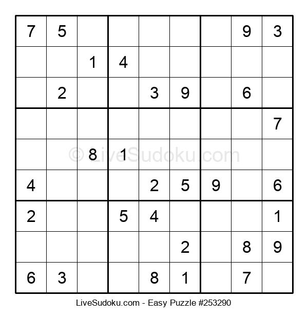 Beginners Puzzle #253290