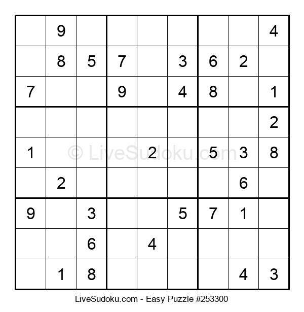Beginners Puzzle #253300