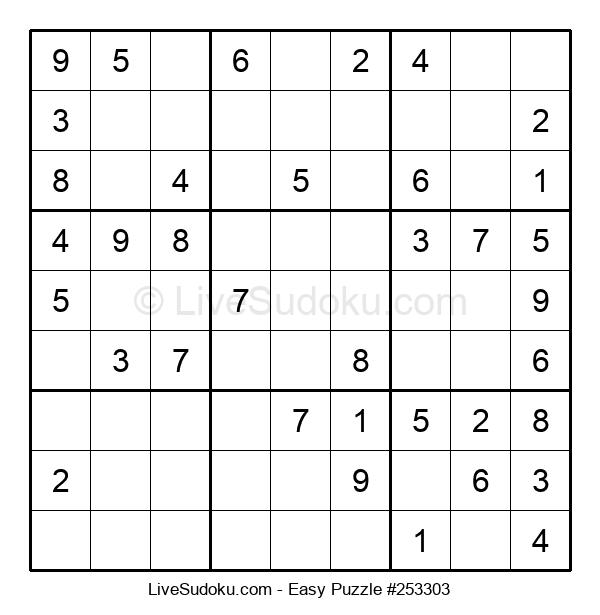 Beginners Puzzle #253303