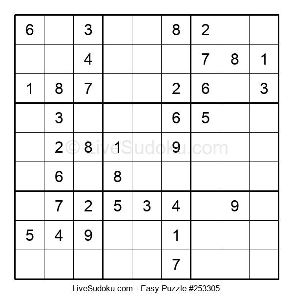 Beginners Puzzle #253305