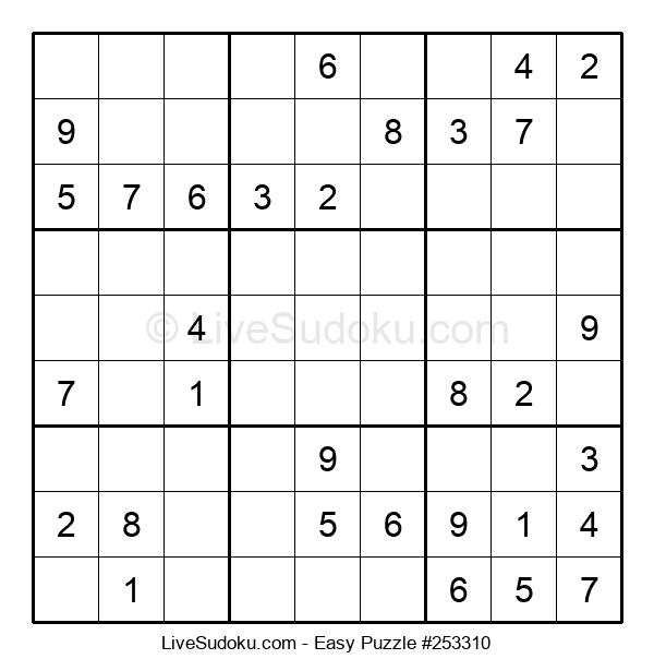 Beginners Puzzle #253310