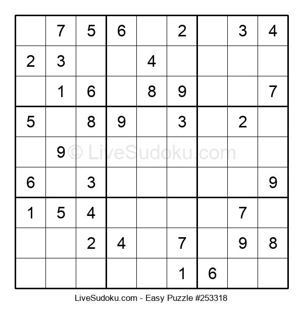 Beginners Puzzle #253318