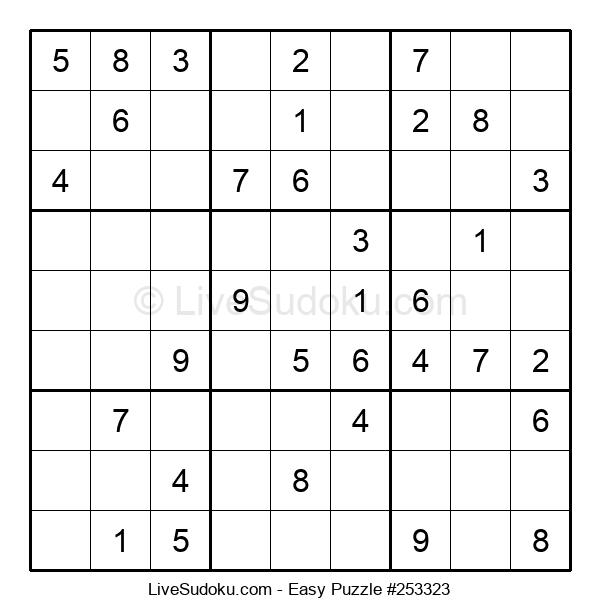 Beginners Puzzle #253323