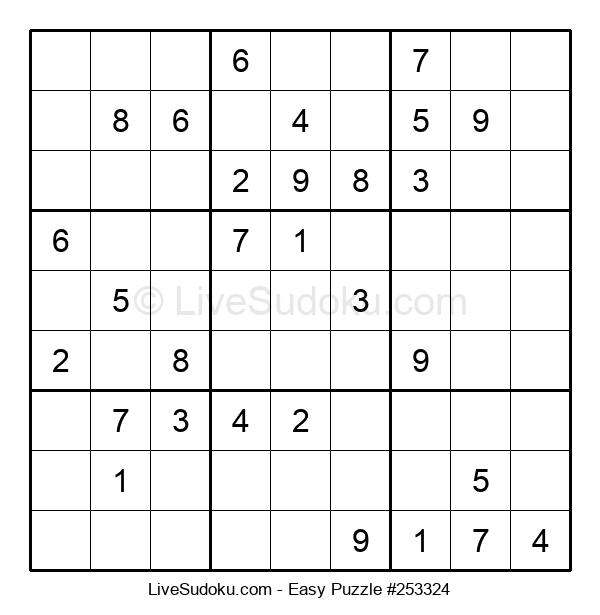 Beginners Puzzle #253324
