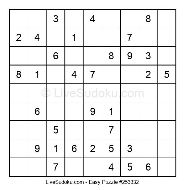Beginners Puzzle #253332