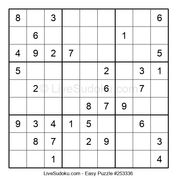 Beginners Puzzle #253336