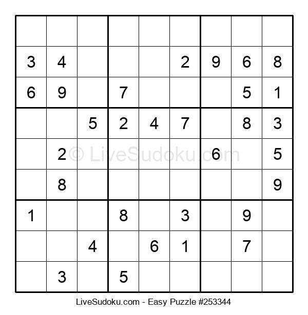 Beginners Puzzle #253344