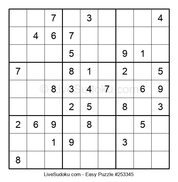 Beginners Puzzle #253345