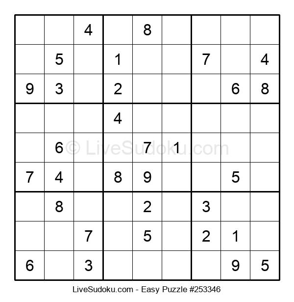 Beginners Puzzle #253346