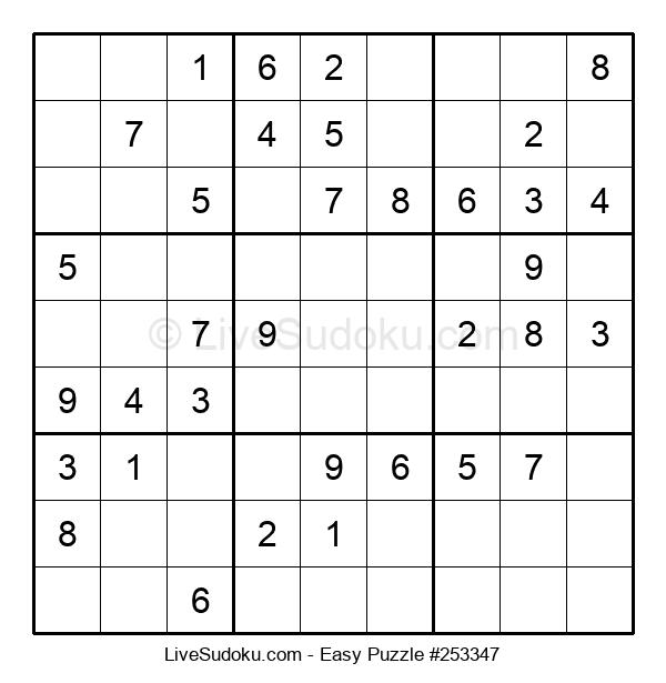 Beginners Puzzle #253347