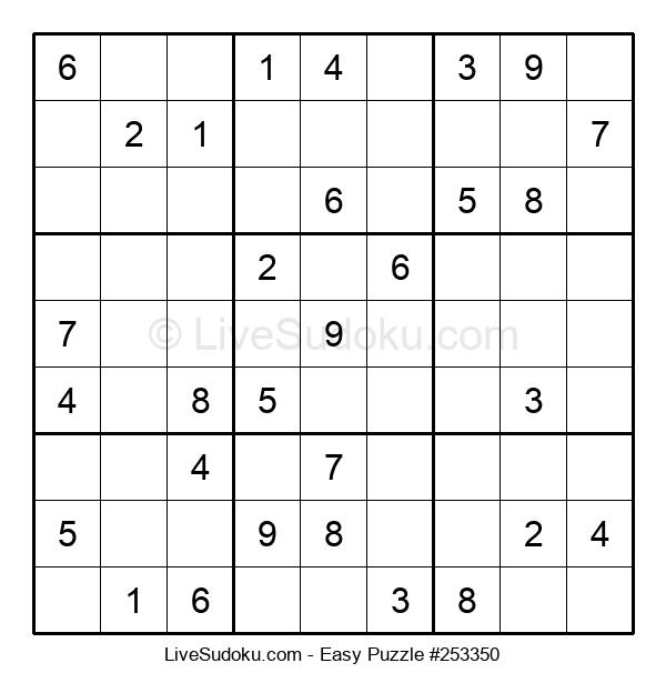 Beginners Puzzle #253350
