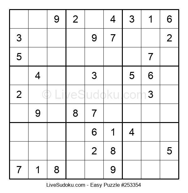 Beginners Puzzle #253354