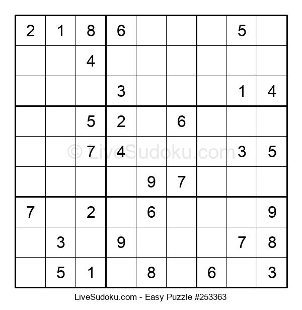 Beginners Puzzle #253363