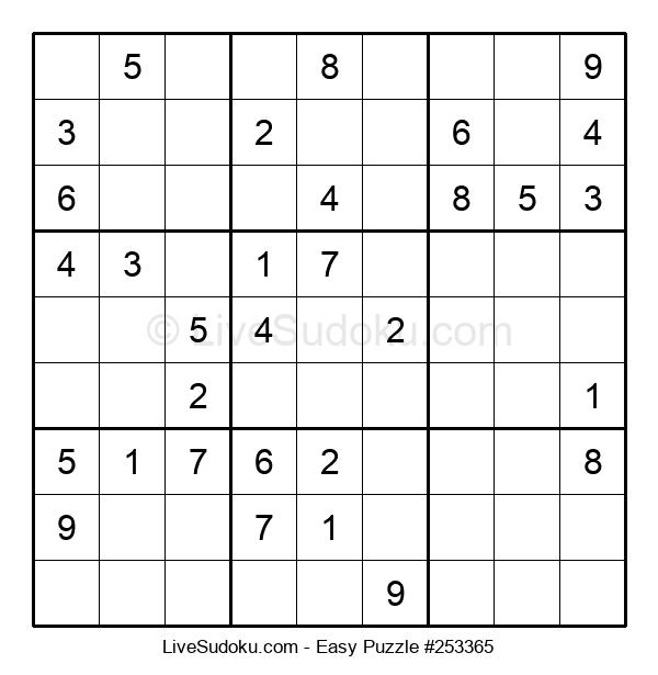 Beginners Puzzle #253365