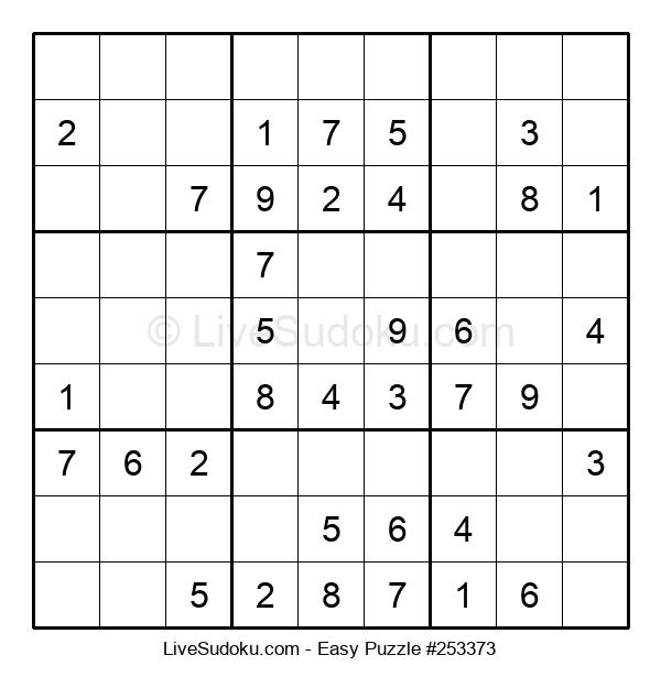 Beginners Puzzle #253373