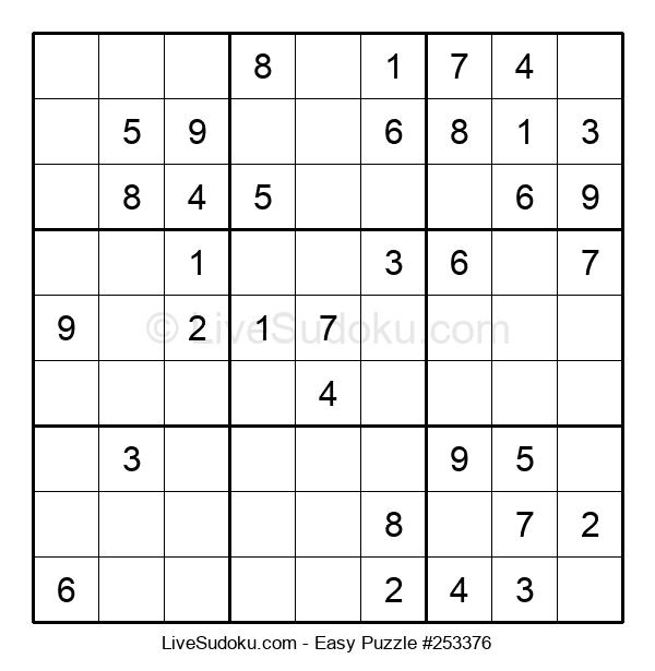 Beginners Puzzle #253376