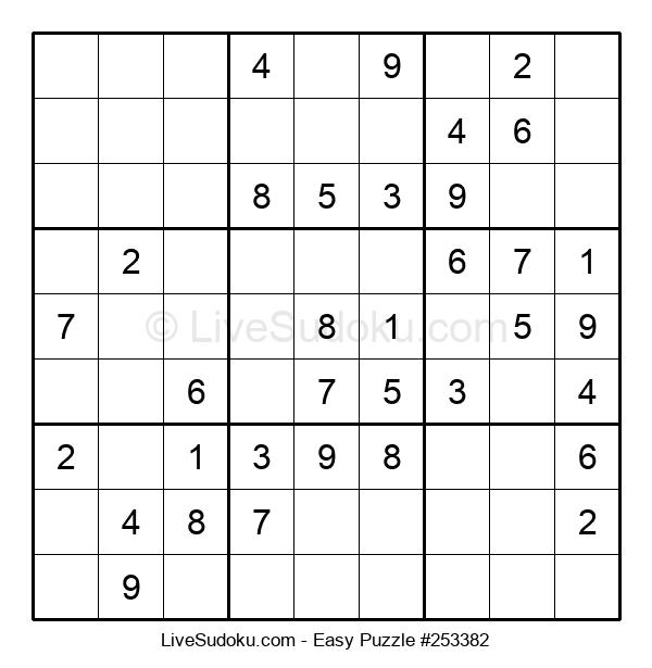 Beginners Puzzle #253382
