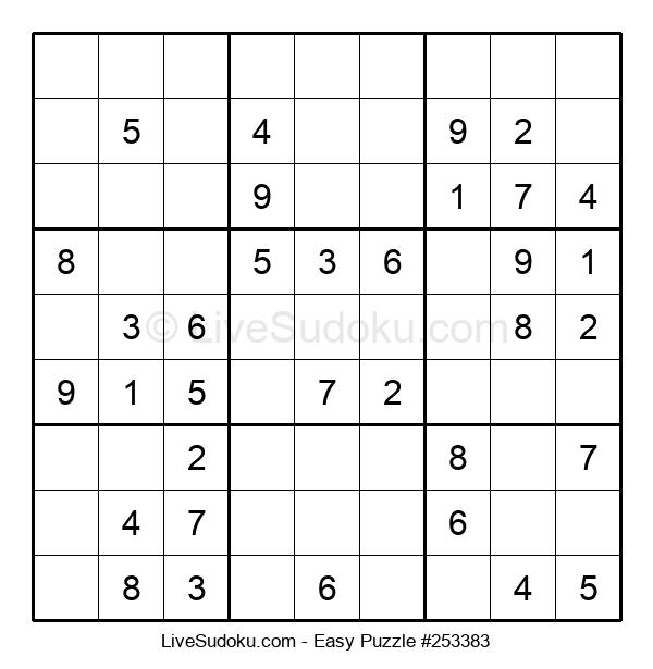 Beginners Puzzle #253383