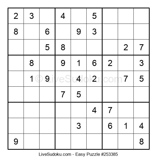 Beginners Puzzle #253385