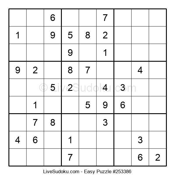 Beginners Puzzle #253386
